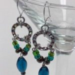 Beaded Chain Earrings #263