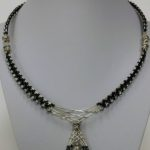 Woven Skull Necklace
