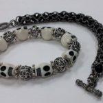 Skull and Captured Bracelets #307 & 310