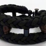 Paracord Skull Bracelet #321