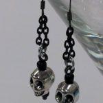 Skull Earrings #329