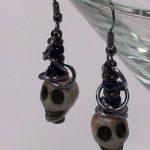 Skull Earrings #327
