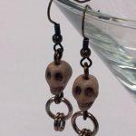 Skull Earrings #330