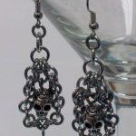 Skull Earrings #332