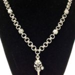Spiked Skull Necklace #336