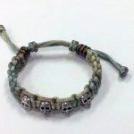 Paracord Skull Bracelet #339