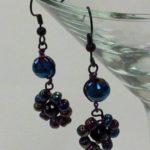 Glass Bead Earrings #252