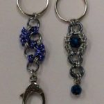 Keychains w/ Bead and Chain