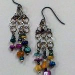 Beaded Earrings #189