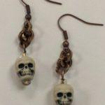 Skull Earrings #221