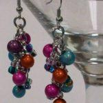 Beaded Chain Earrings #240