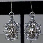 Skull Earrings #358