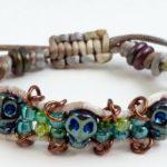 Skull Bracelet #624